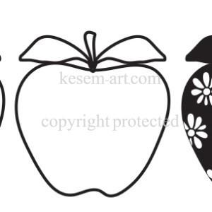 בורדר תפוחים