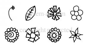 פרחים פשוטים