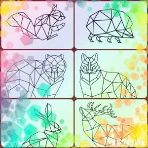 חיות גאומטריות